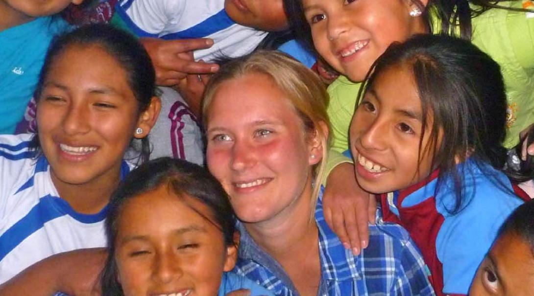Emily B in Peru